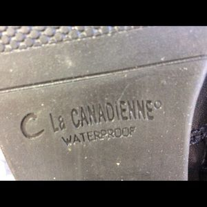 "La CANADIENNE Shoes - LIKE NEW LA CANADIENNE ""JENNIFER"" BOOTS 6.5 M"